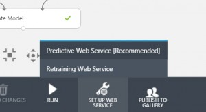 deploy your model as a web service